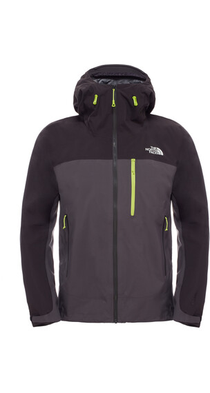The North Face M's Zero Gully Jacket Asphalt Grey/TNF Black